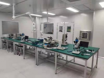 雷达组装实验室